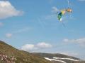 Ski Salto Sprung auf Extremsport-Welt
