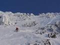 Extreme Ski Abfahrt auf Extremsport-Welt