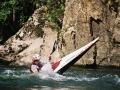 Wildwasser Kajak auf Extremsport-Welt