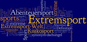 Extremsport Synonyme wie extreme sports und Abenteuersport