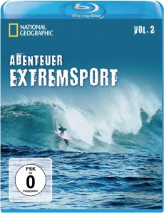 Cover der Blu-Ray National Geographics Abenteuer Extremsport Vol.2 Extremsport Filme