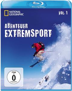 Cover der Blu-Ray Abenteuer Extremsport Vol.1 (Extremsport Filme)