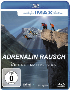 Cover vom Extremsport Film: Blu-Ray IMAX Adrenalin Rausch - Der ultimative Kick