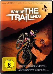 Cover der DVD Where the trail ends in Extremsport Filme